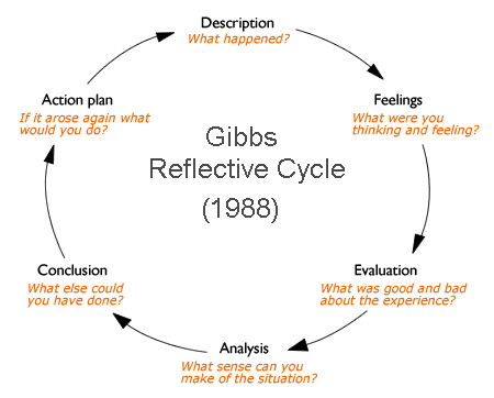 Gibbs reflective cycle 1988 reference
