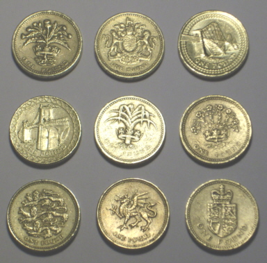 Pound Coin Designs