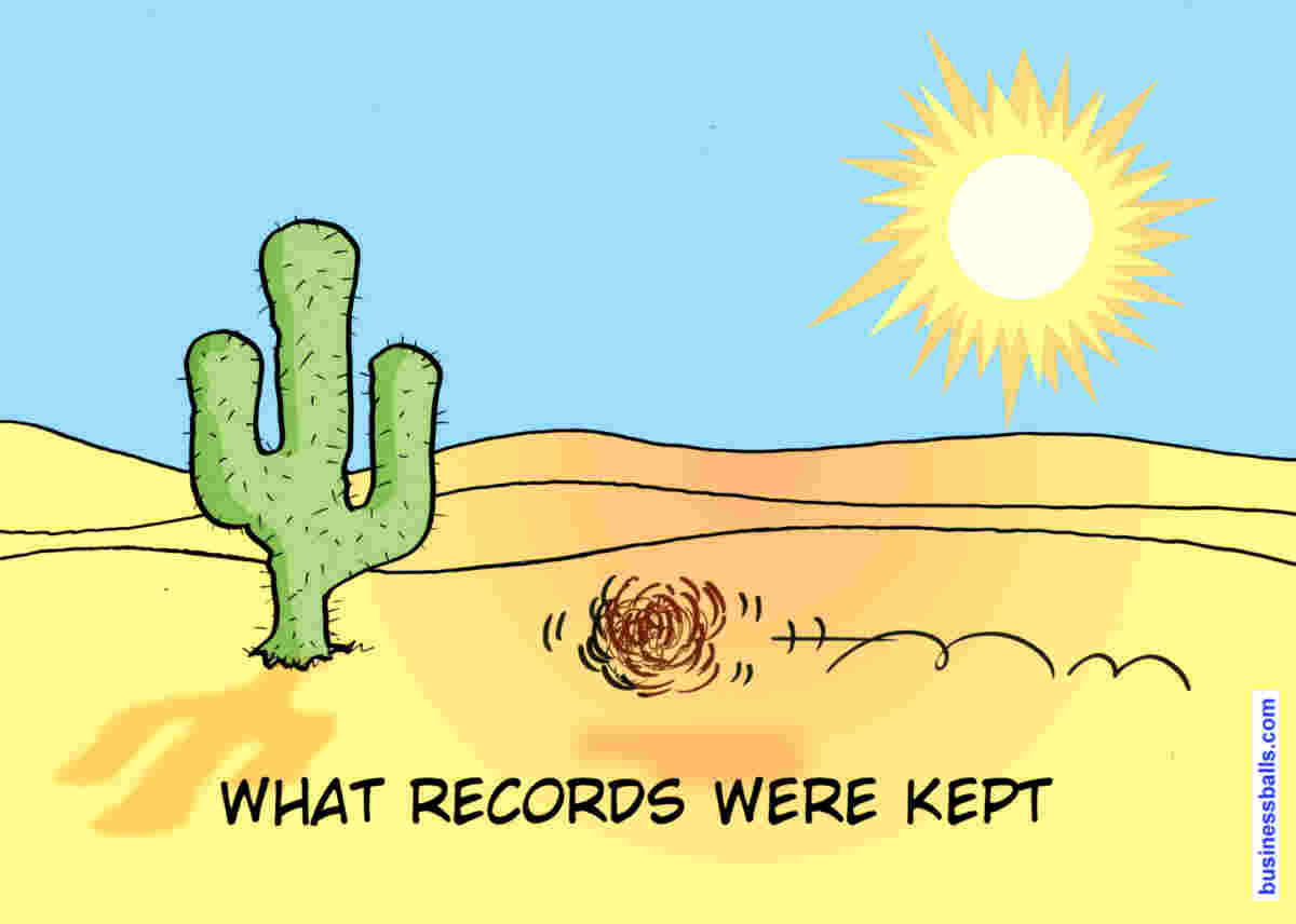 treeswing - what records were kept