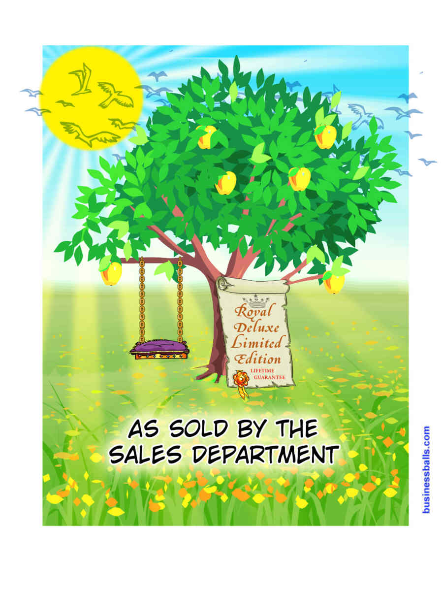 treeswing - as sold by sales department