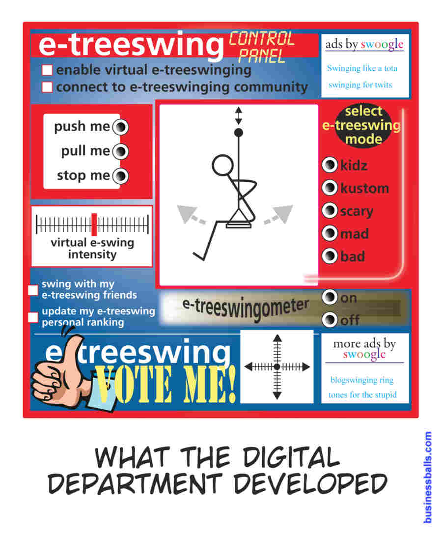 treeswing - what the digital department developed